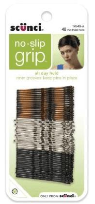 Scunci No Slip Grip Bobby Pins