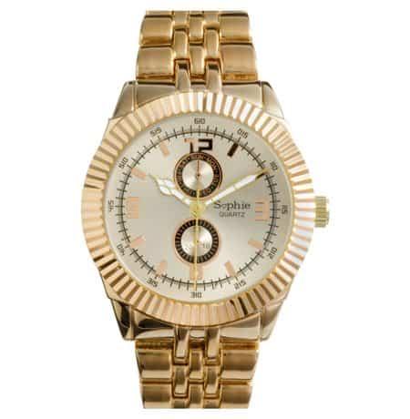 Sophie Titanium Rose Gold Diver Watch