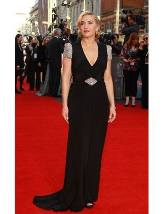 black Jenny Packham gown