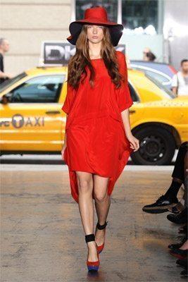 DKNY Mullet Skirt