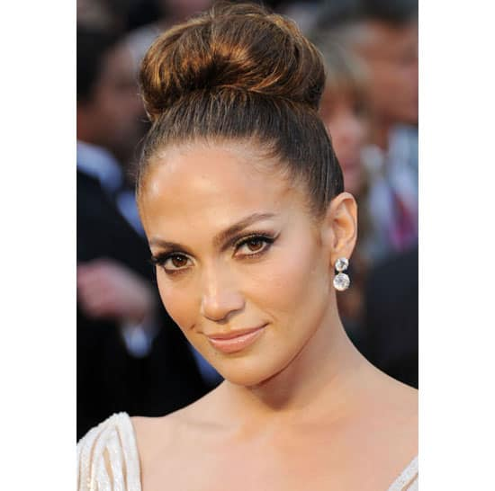 Jennifer Lopez' Top Knot