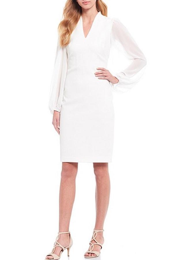 White dress from Dillard's