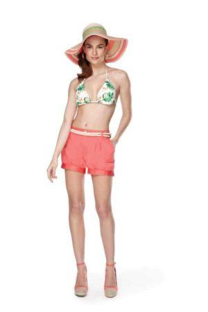 Bikini top and shorts
