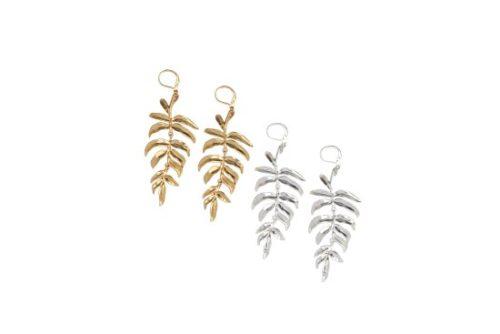 palm drop earrings