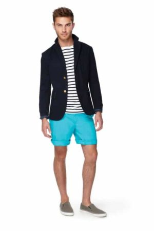 Men's outfit shorts and jacket