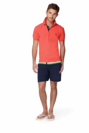 Men's outfit shorts and polo