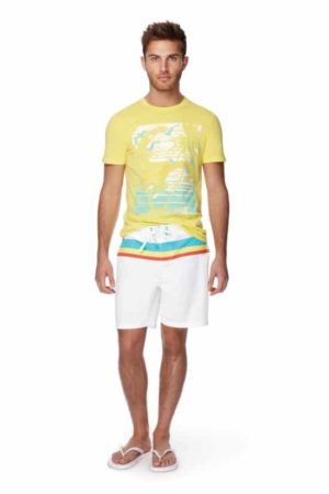 Men's outfit shorts and t shirt
