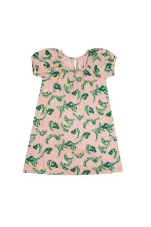 girl's printed dress