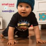 Small Paul at Babies R Us