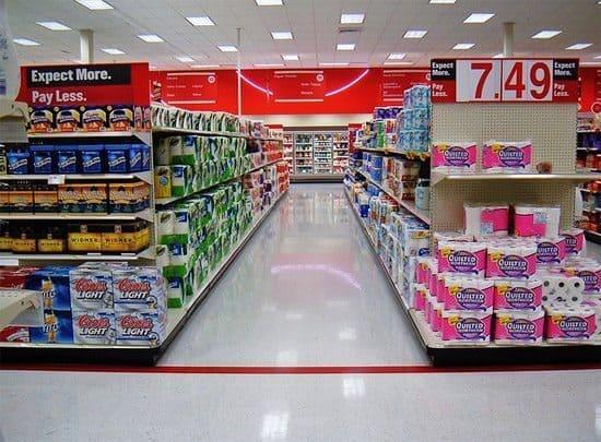Target aisles