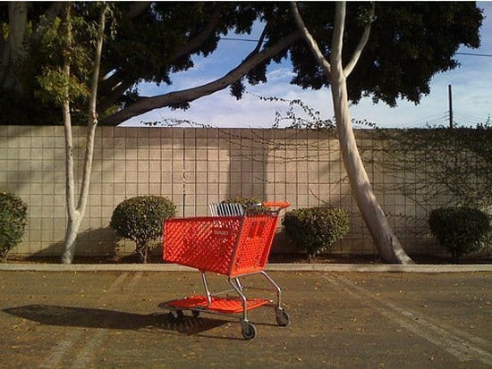 Target green shopping