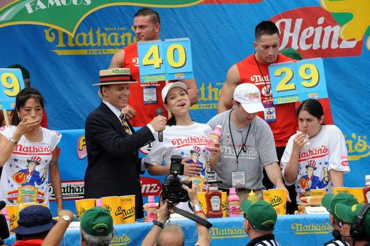 Hotdog-eating Contest