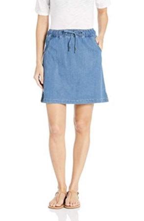 Chambray tie-waist summer skirt