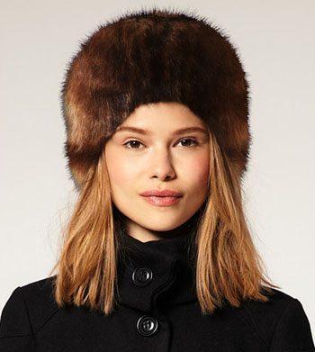 ASOS Faux Fur Cossack Hat