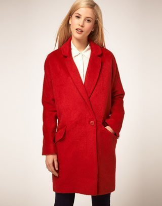 ASOS Oversized Boyfriend Coat