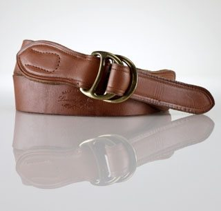Leather Pull-back Stirrup Belt