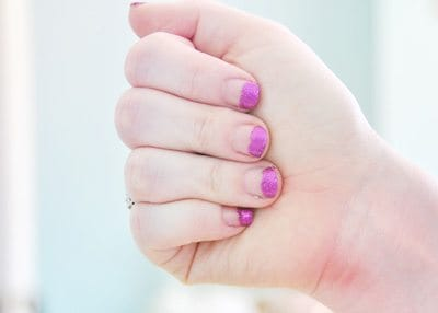 Paint the Tips of Your Nails