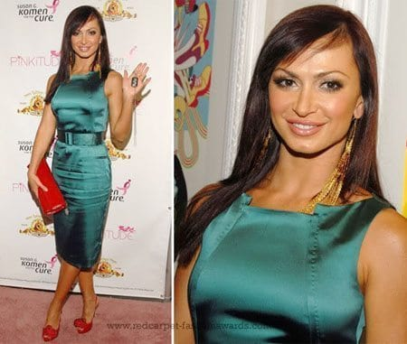 Karina Smirnoff in Teal