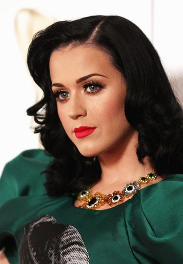 Katy Perry in Teal