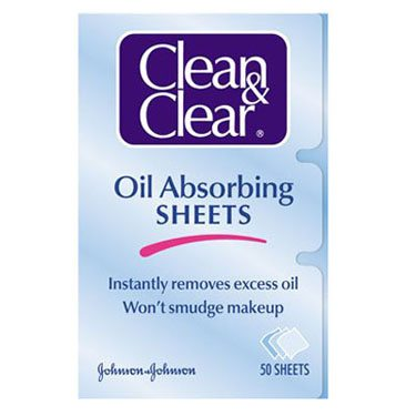 Clean and Clear Oil Absorbing Sheets
