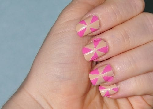 Heart Burst Nail Tutorial Step 4