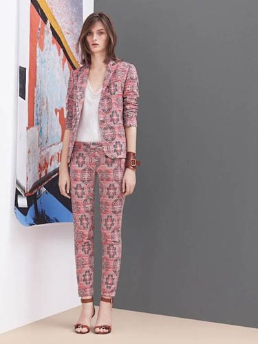 Patterned Suit