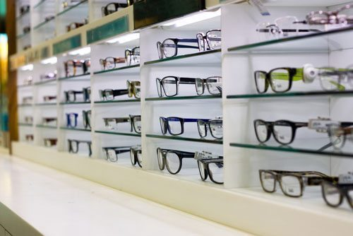 Row of Glasses