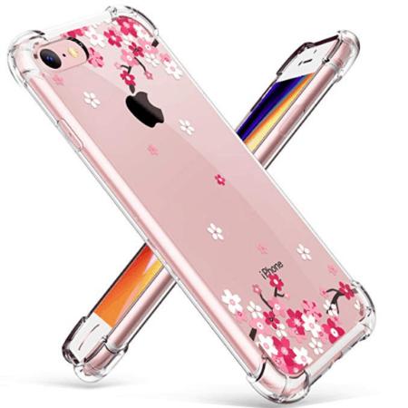 Pink floral case