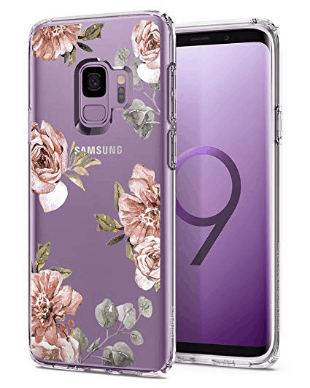 purple floral case for Galaxy s9