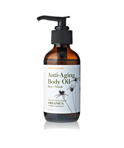 Anti-Aging Body Oil in Rose and Neroli