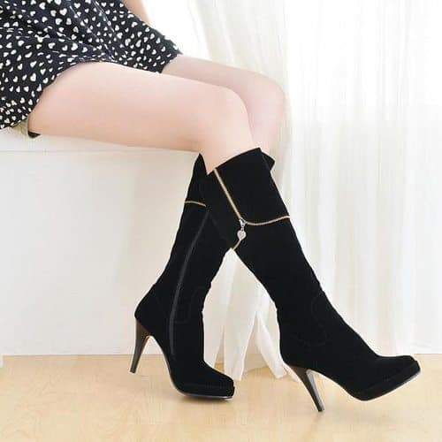 Grace Candy Zip Tall Boots