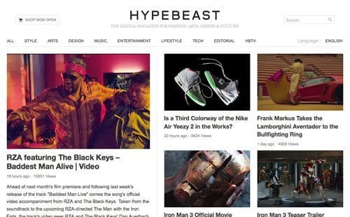 Hypebeast Street Wear Blog