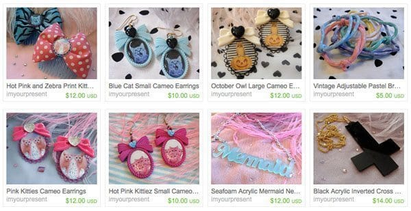Etsy Goods: 5 Kitschy-Cute, Inexpensive Jewelry Shops