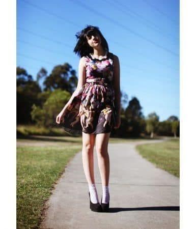 Kayla Wanny fashion blogger