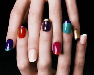 Multicolor Fall Manicure
