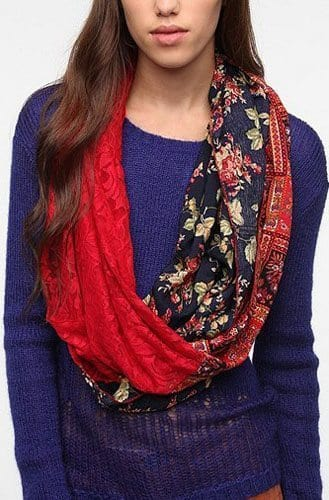 Renewal Remant Circle Scarf by Urban Outfitters