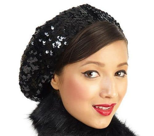 Sequin Hat from QVC