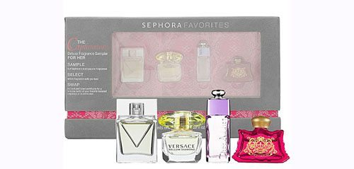 The Captivators Deluxe Fragrance Sampler For Her
