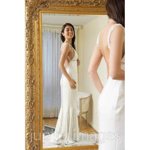 Wedding Dress Fitting, Credit: Jupiter Images/RF