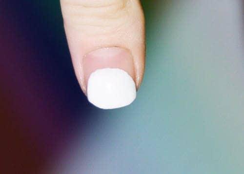 Prep, Paint White Half Circle