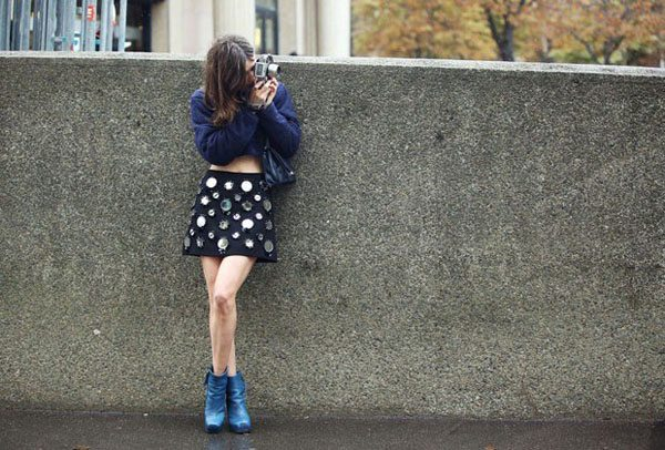 What the Street Style Photographers Wear