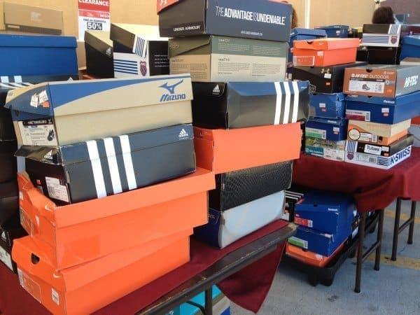 Sports Chalet Shoe Boxes
