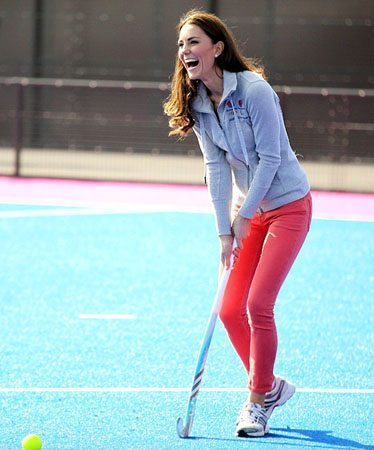 Kate Middleton Colored Pants