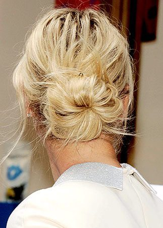 Holiday Hairstyles | Hair Buns | The Budget Fashionista