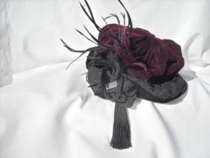 1920s hat by S C Designs for Downton Abbey Fashion Trend