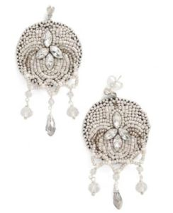 Bead our guest earrings Downtown Abbey Fashion Trend