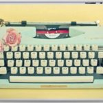 The Typewriter by Cassia Beck Laptop Skin