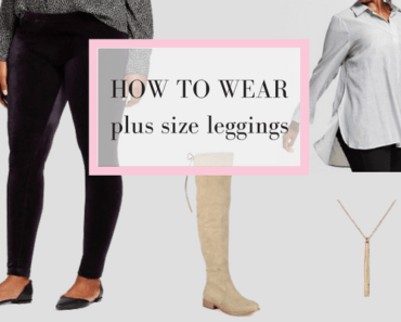 plus size leggings outfit collage
