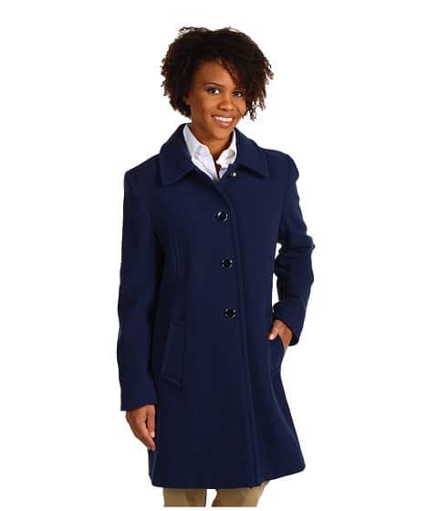 Larry Levine Luci Wool Walker Coat, $75.99 from Zappos
