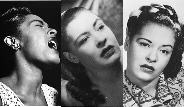Billie Holiday hair and makeup